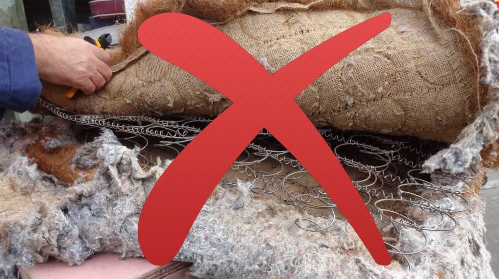 Những tác hại nguy hiểm khi sử dụng nệm kém chất lượng